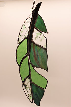 Green Spirit Feather