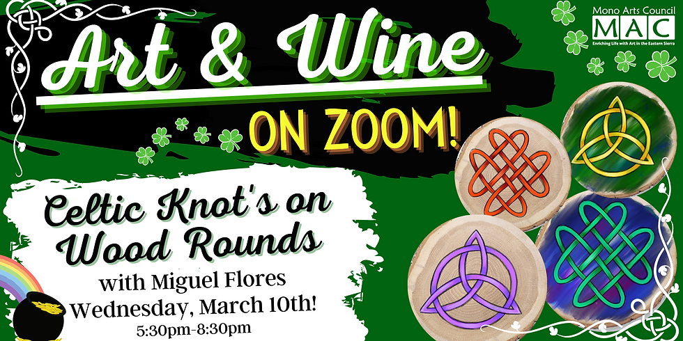 Celtic Knots on Wood Rounds, with Miguel Flores