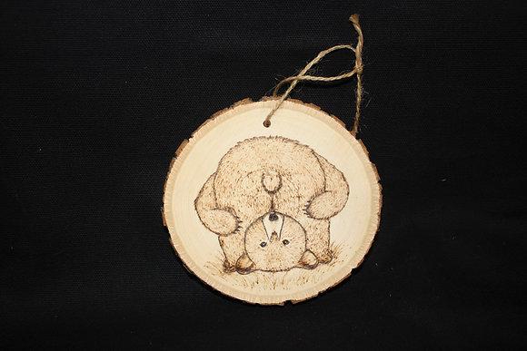 Ornament: Full Moon Bear