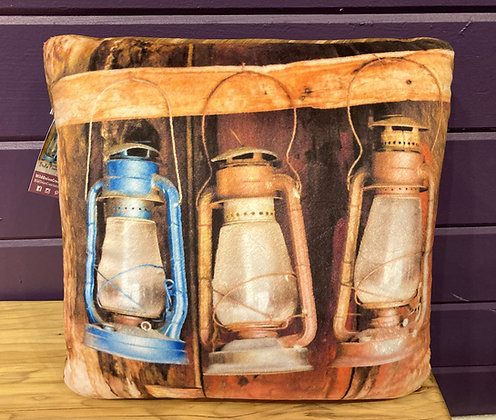 Pillow: Bodie Firehouse Lanterns