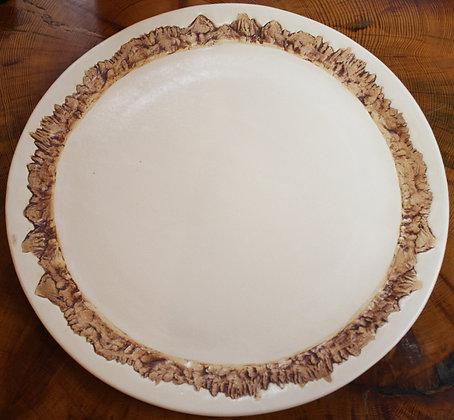 Platters in Eggshell: Minaret Vista