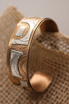 Copper + Silver Bracelet