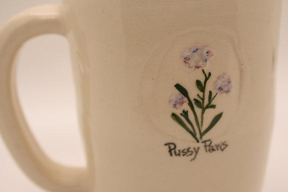 Wildflower Mug: Pussy Paws