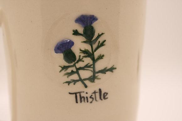 Wildflower Mug: Thistle
