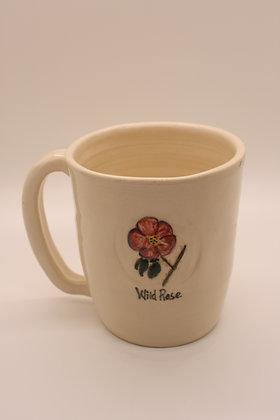 Wildflower Mug: Wild Rose