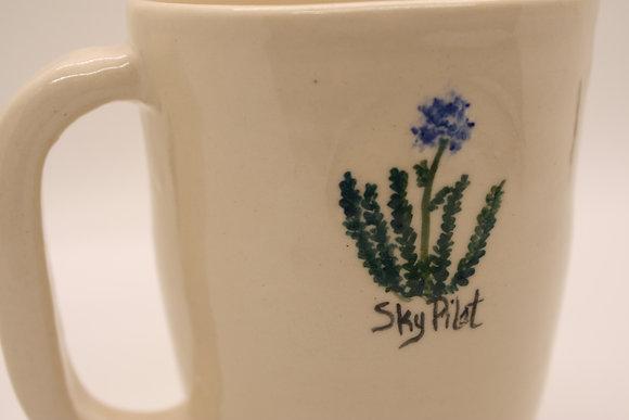 Wildflower Mug: Sky Pilot