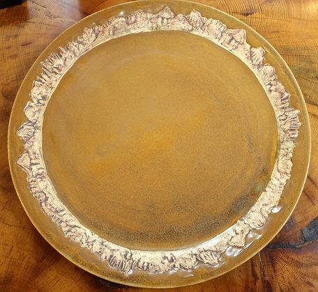 Platters in Copperhead Brown: Minaret Vista