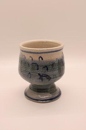 Ceramic Tumbler: Blue Tones