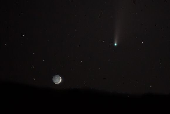 Neowise & The Moon