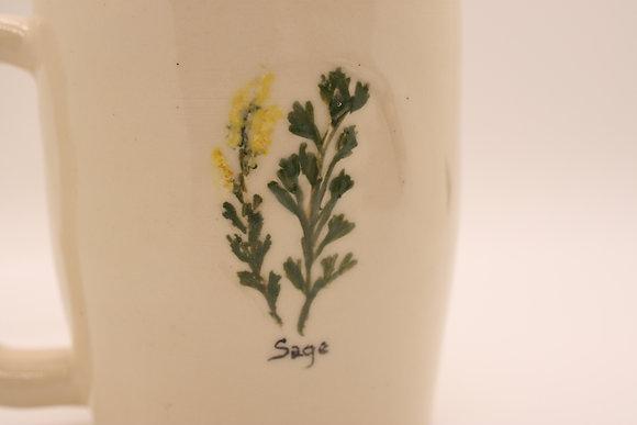 Wildflower Mug: Sage