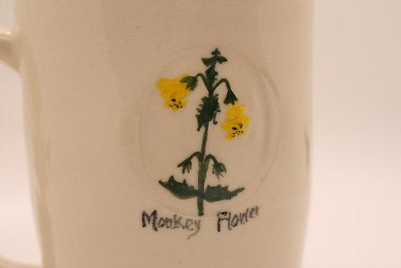 Wildflower Mug: Monkey Flower