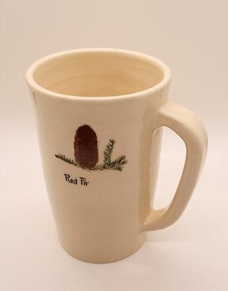 Tree Mug: Red Fir