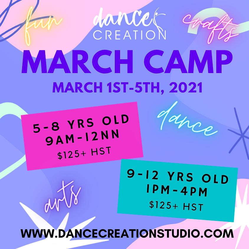 March Break Batch 1 (5-8yrs old)