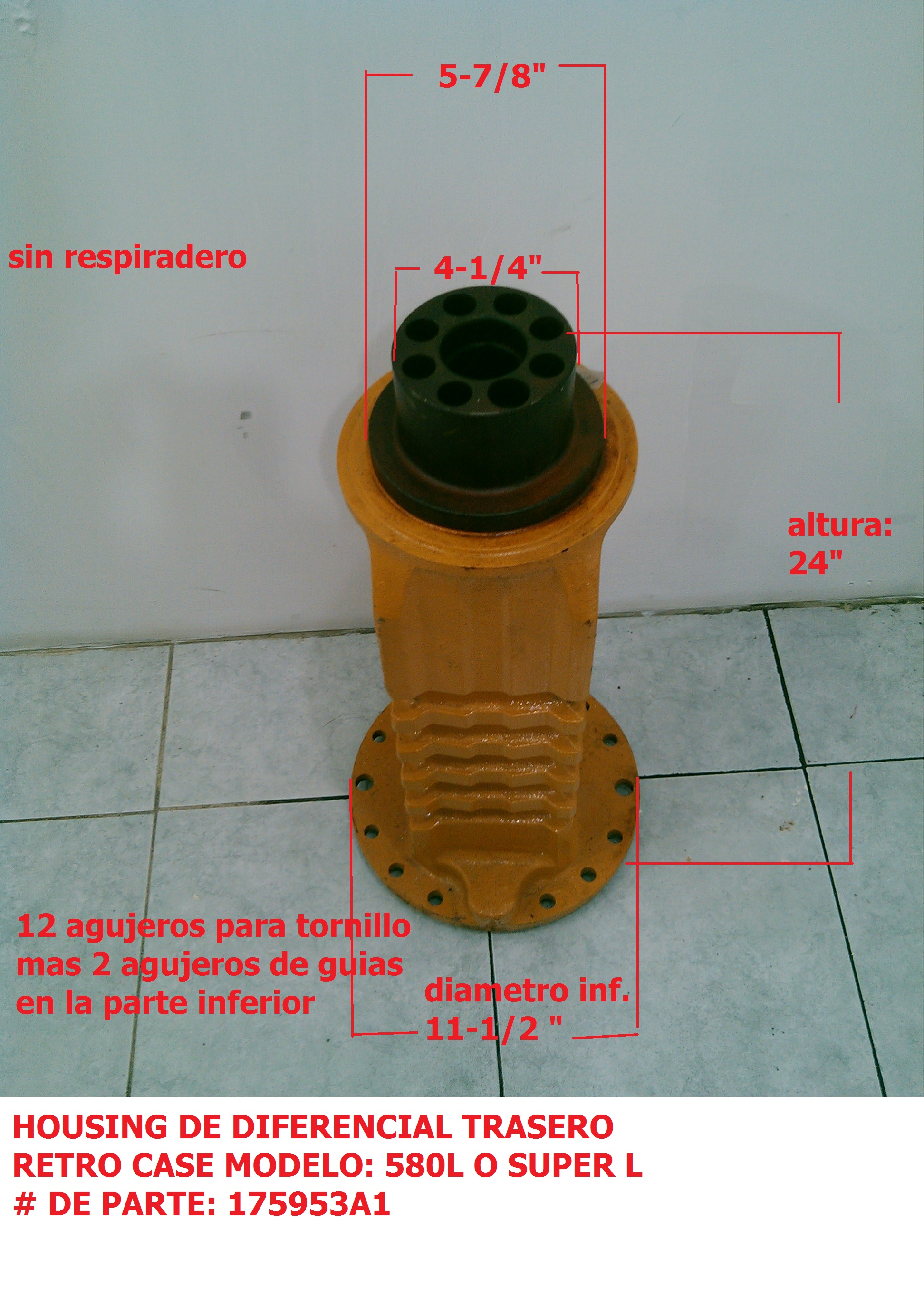 175953A1 Housing de diferencial Case