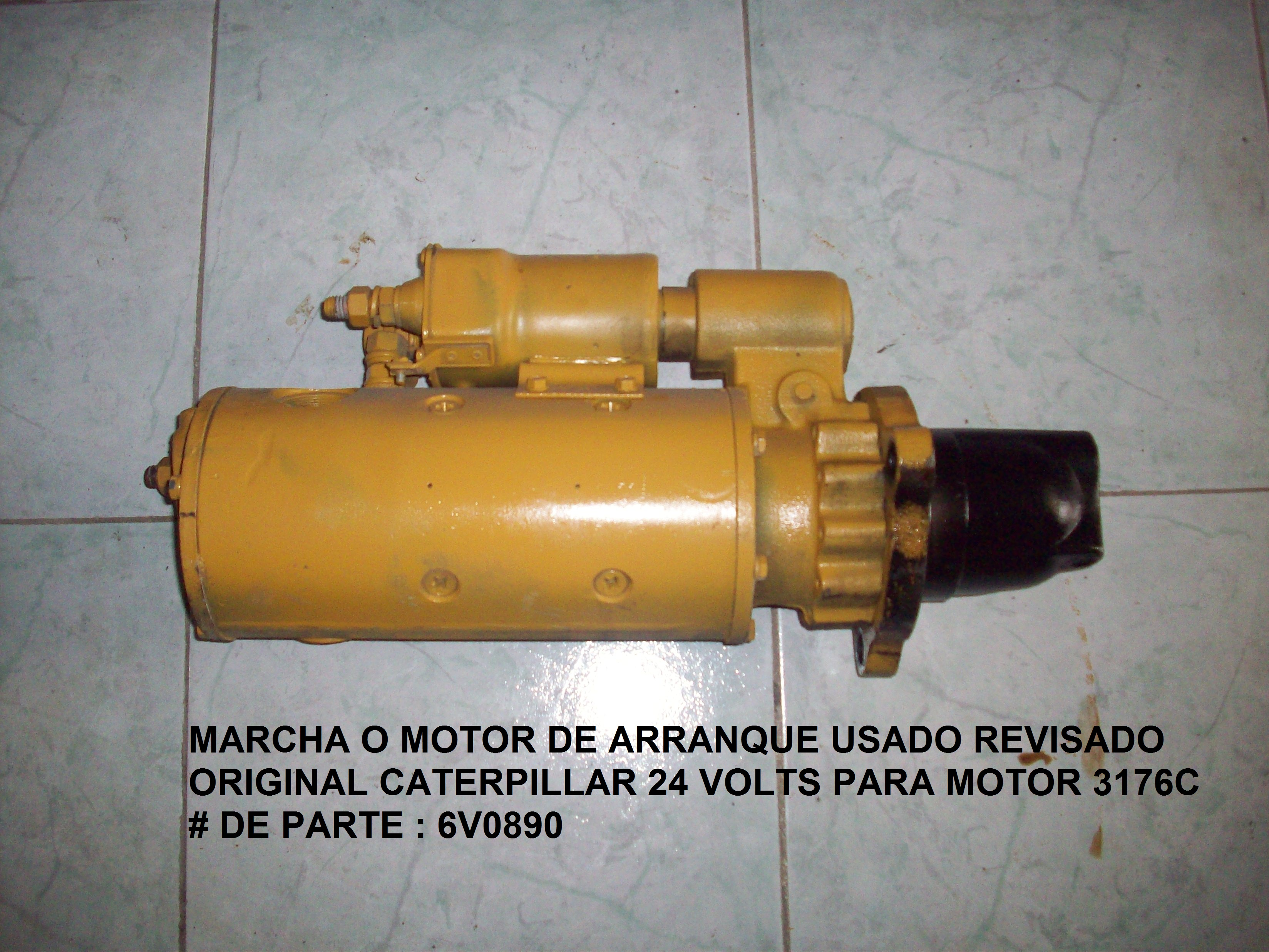 6V0890 Marcha Caterpillar