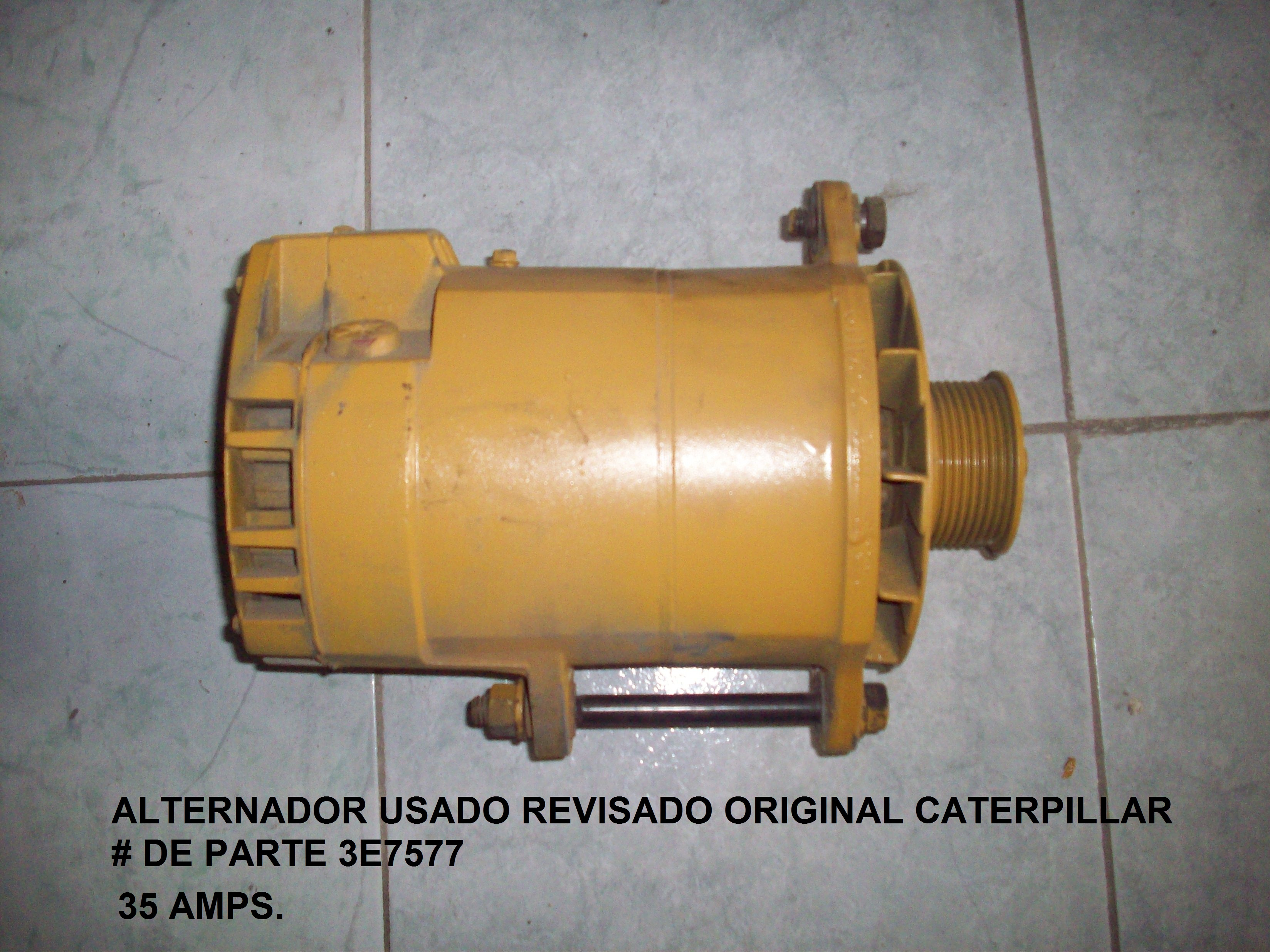 3E7577 Alternador Caterpillar