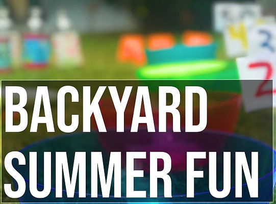 10 Family Friendly Backyard Summer Games