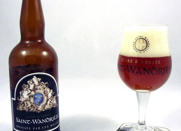 Carton de bière : 6 Saint-Wandrille