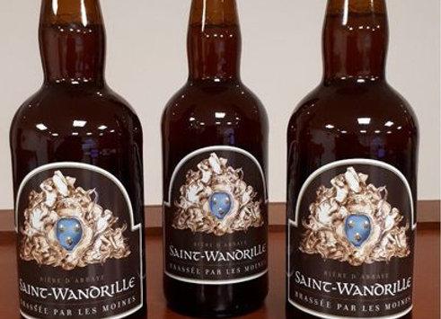 Carton de bière : 3 Saint-Wandrille
