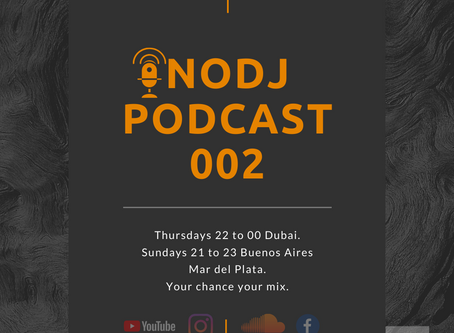 NODJ PODCAST E2 XAVI CORTES COLOMBIA, SPANISH INTERVIEW