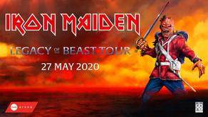 DUBAI Ticket Iron Maiden - Legacy Of The Beast Tour live at Coca-Cola Arena