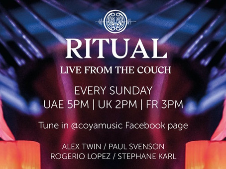 COYA Ritual Live Stream From The Couch