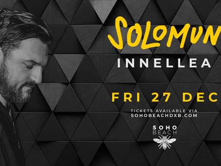 Dubai Solomun Tickets // December 27 // Soho Beach DXB