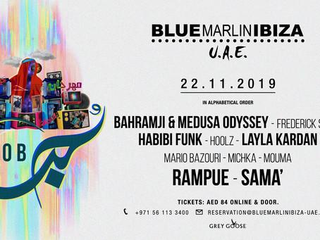 Dubai Hob Festival at Blue Marlin Ibiza UAE 2019