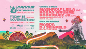 Groove on the Grass Friday 15 Nov
