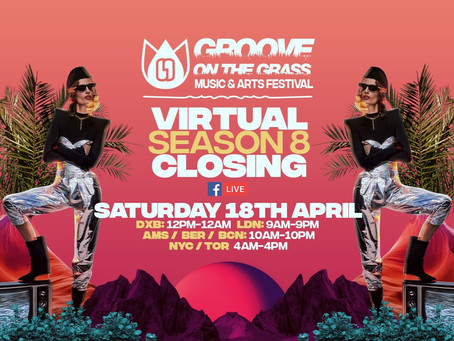 Groove on the Grass Live Streaming Saturday 18th April Dubai