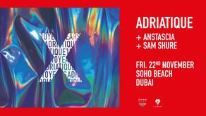 "Adriatique in DUBAI  presents ""X"" by The Gardens of Babylon"