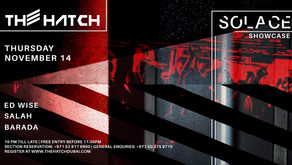 Electronic Music Event Solace at The Hatch