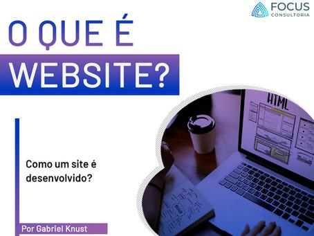 O que é website?