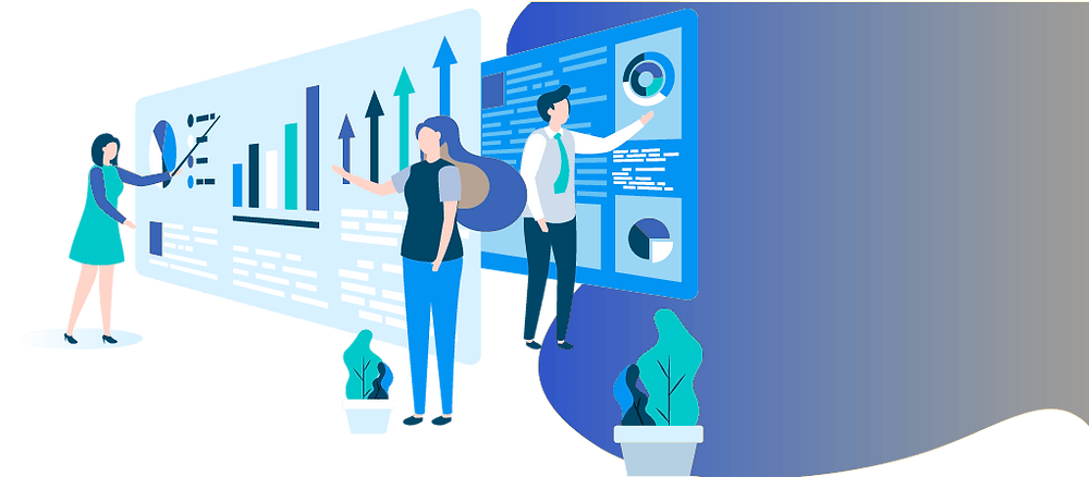 ilustração gestão de projetos