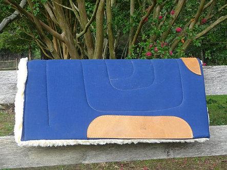 2 -Harris Canvas Western Work Pad - Fleece Lined