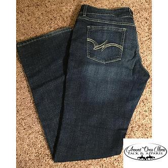 Ladies Wrangler Boot Cut Jeans