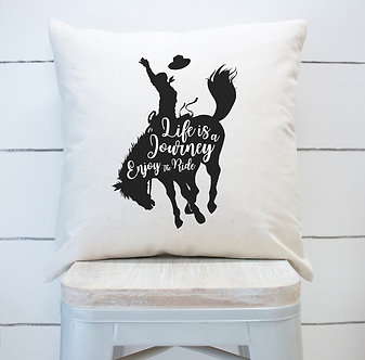 Life is a Journey - Custom Designed Pillow Case