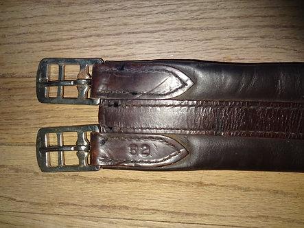 Size 52, English Leather Girth