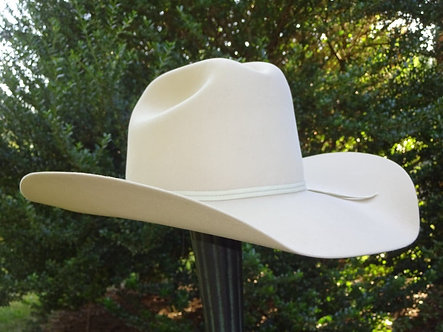 Tan Western Hat and Hat Carrier
