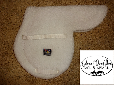 SuperQuilt English Fleece Close Contact English Saddle Pad Made by Toklat
