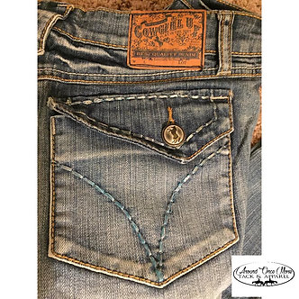 Ladies Cowgirl Up Boot Cut Jeans