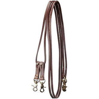 Leather Pully Draw Reins