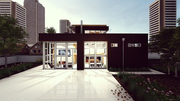 Renderização INCUB Arquitetos Projeto por Mike Brestel