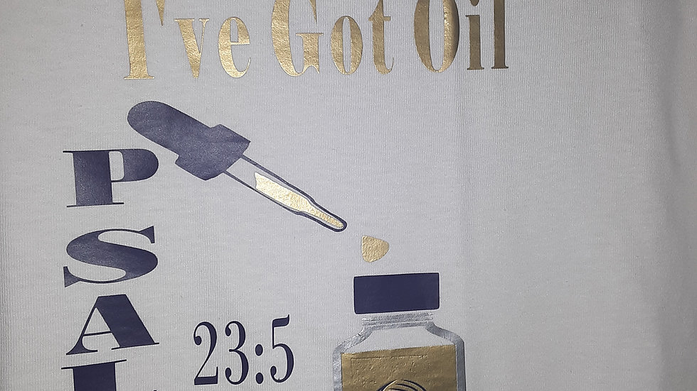 """I've Got Oil"" Chaya T-Shirt"