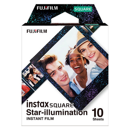 Película Instax Square Star Illumination x10 - Films de Prueba