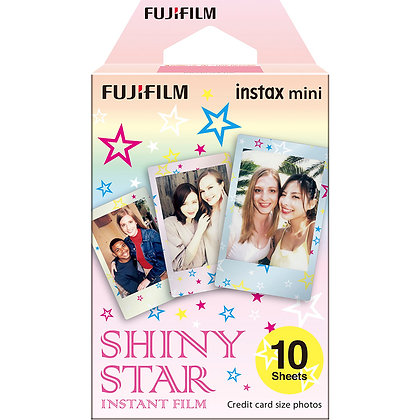 Mini Shiny Star Instax Film X10