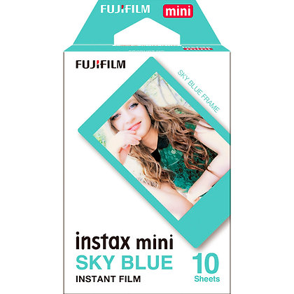 Mini Borde Azul Instax Film X10