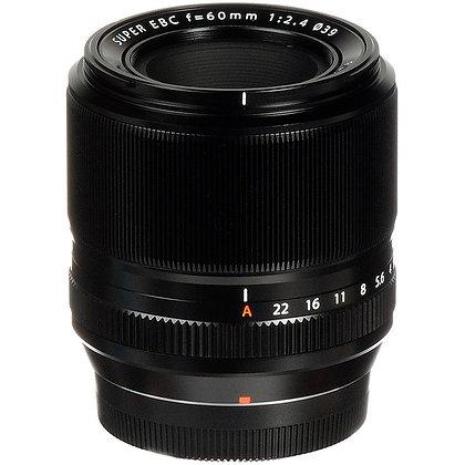 Lente XF. 60mm f/2.4 Macro