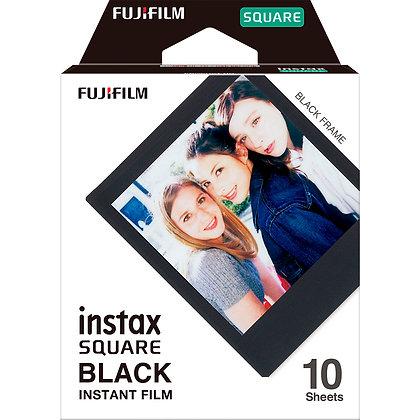 Square Instax Film X10 - Borde Negro