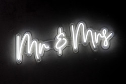 Mr & Mrs - Neon Sign Hire
